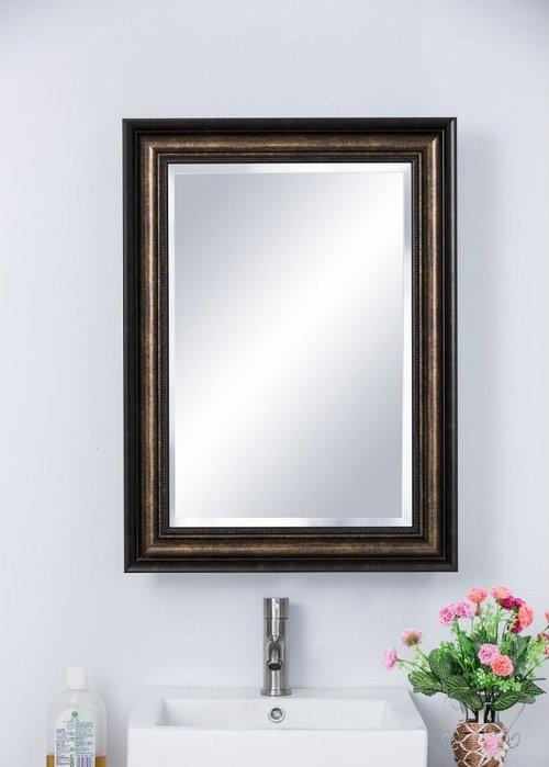 "30"" x 22"" Recessed/Surface Mount Mirror - Bronze <small>(#808990)</small>"