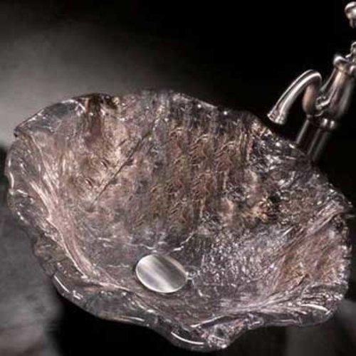 "JSG Oceana 4"" x 20"" Alina Art Vessel Bathroom Sink - Platinum 005-012-500"