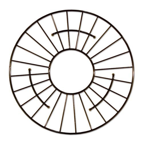 "Native Trails 11"" Round Kitchen Sink Grid - Mocha GR951-M"