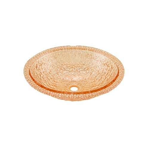 "16-1/16"" x 19-1/2"" Pebble Universal Bath Sink-Champagne Gold <small>(#007-307-100)</small>"