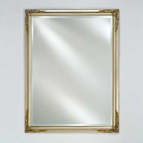 """Estate 16"""" Mirror - Antique Silver <small>(#EC13-1626-SV)</small>"""
