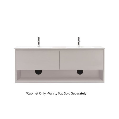 Avanity 63 sonoma wall mount cabinet only w o top for Wall mounted bathroom vanity cabinet only