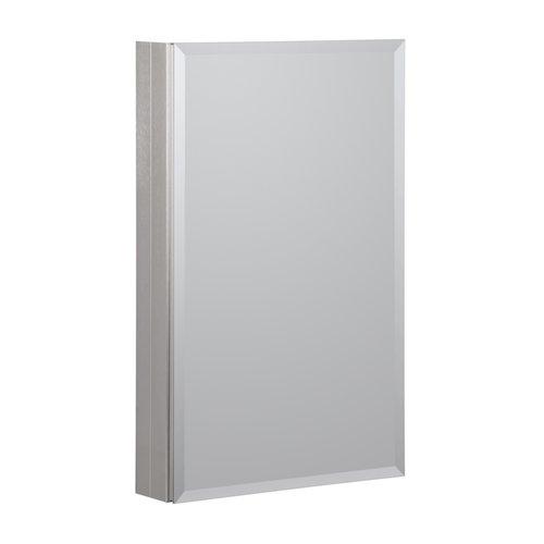 "19"" x 30"" Aluminum Medicine Cabinet - Brushed Nickel <small>(#MMC1930-BN)</small>"