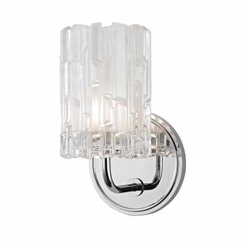 Dexter 1 Light Bathroom Sconce - Polished Chrome <small>(#1331-PC)</small>