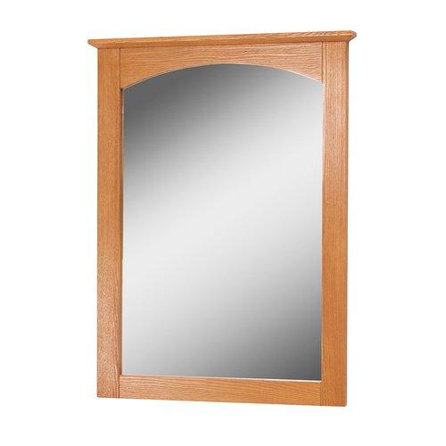 "21"" x 28"" Worthington Wall Mount Mirror - Oak <small>(#WROM2128)</small>"