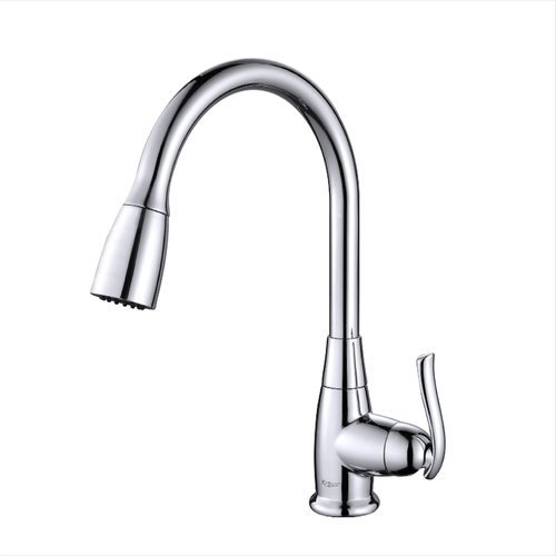 High Arch One Handle Pull-Out Kitchen Faucet Chrome <small>(#KPF-2230CH)</small>
