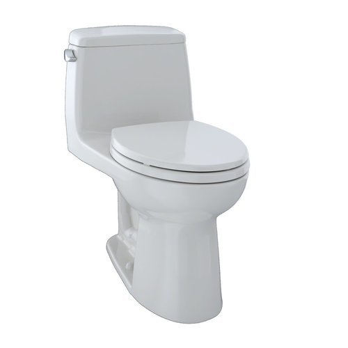 Eco Ultramax One-Piece Elongated 1.28 GPF Toilet - Colonial White <small>(#MS854114E#11)</small>
