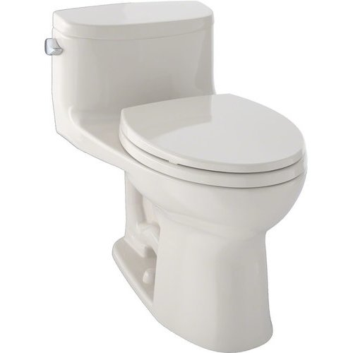 Supreme II One-Piece Elongated 1.28 GPF Universal Height Toilet with CeFiONtect, Bone <small>(#MS634114CEFG#03)</small>