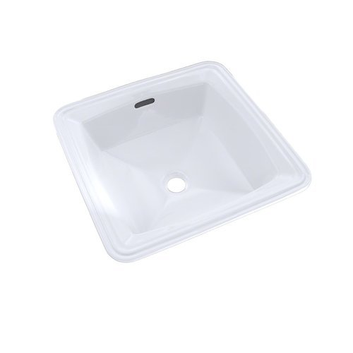 Connelly Square Undermount Bathroom Sink With Cefiontect - Cotton White <small>(#LT491G#01)</small>