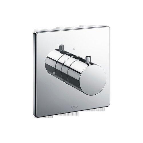 Square Volume Control Valve Shower Trim - Polished Chrome <small>(#TBV02101U#CP)</small>