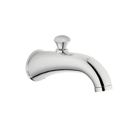 Silas Wall Tub Spout With Diverter - Polished Chrome <small>(#TS210EV#CP)</small>