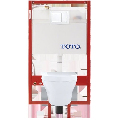 Toto Mh Wall Hung D Shape Toilet And Duofit In Wall 0 9