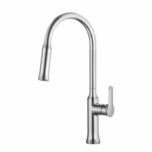 Nola One Handle Pull-Out Kitchen Faucet-Chrome <small>(#KPF-1630CH)</small>